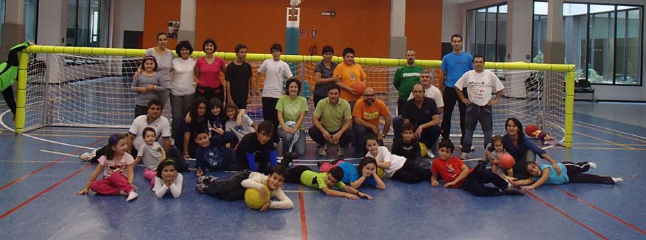 Itxaropena: Equipo Goalball